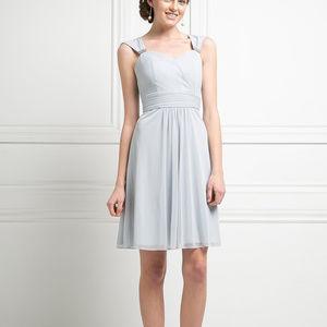 Sleeveless Short Evening Dress CD3832